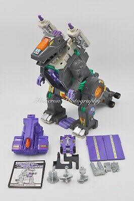 AU500 • Buy Transformers Vintage G1 Trypticon 100% Complete