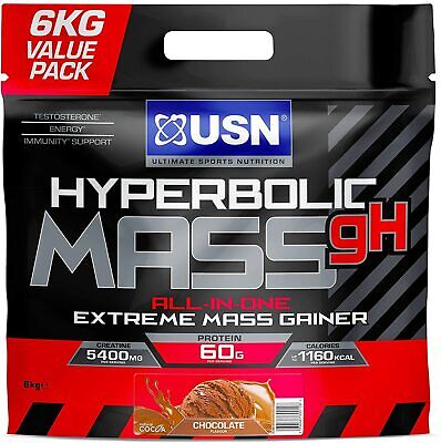 £52.99 • Buy  USN Hyperbolic Mass All In One Weight Gainer 6KG Muscle Fuel Gain Anabolic