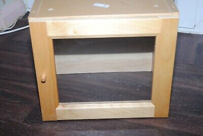 Single Ikea Billy Display Top Extension Box With Glass Door • 10£