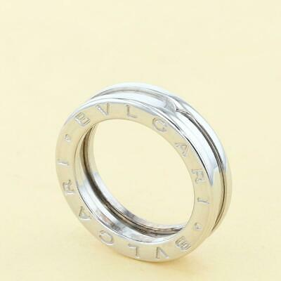 AU1667.20 • Buy Second Hand Bvlgari B-Zero1 750Wg Xs Marke Jewelry Ring Approximately