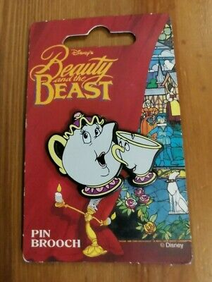 Disney Beauty And The Beast Mrs Potts And Chip Pin Badge NEW • 1.04£