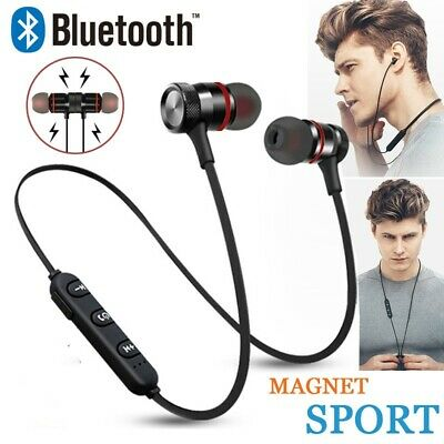 Wireless Bluetooth Earphones Headphones Sport Gym Music For Samsung IPhone Ear • 3.49£