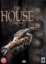 The House Collection (DVD, 2004, 4-Disc Set) • 5.50£