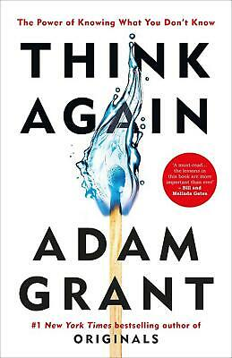 AU31.69 • Buy Think Again: The Power Of Knowing What You Don't Know By Adam Grant (English) Pa