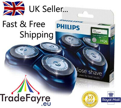AU81.25 • Buy PHILIPS GENUINE HQ6 Replacement Shaver Head/Foils/Cutters