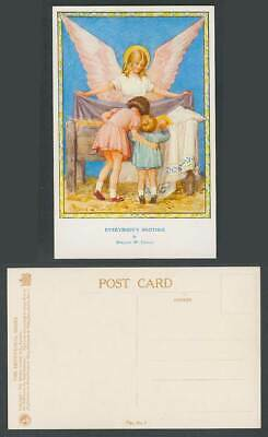 Margaret W. Tarrant Old Postcard Everybody's Brother Angel Jesus, The Devotional • 5.99£