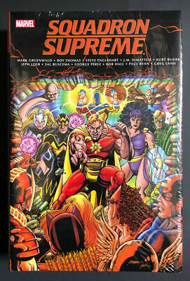 £31.94 • Buy SQUADRON SUPREME CLASSIC OMNIBUS HC Hardcover Factory Sealed Marvel $125 Cover