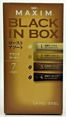 AU8.20 • Buy MAXIM Black In Box (Black Coffee) 2g×7stick