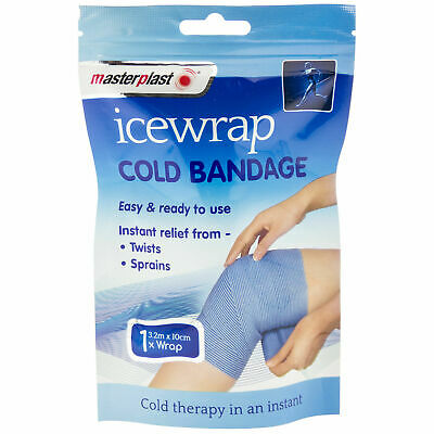 Masterplast Ice Wrap Cold Bandage Compress Therapy Treats Injury Muscle Pain • 4.99£