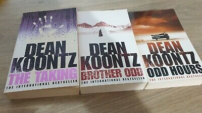 3 Paperback Books By Dean Koontz In Good Condition. • 1.60£