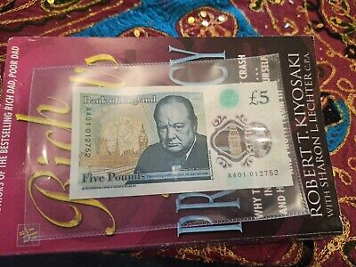 Aa01 New Five Pound Note Extremely Low Serial Number Polymer Note Aa01 012752 • 49£