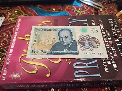 Aa01 New Five Pound Note Extremely Low Serial Number Polymer Note Aa01 064923 • 35£