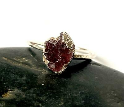 £175 • Buy Pink Spinel Silver Formed Ring