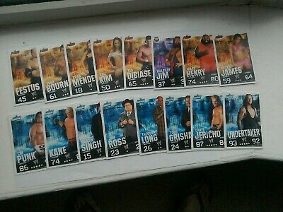 Wwe Slam Attax Evolution Cards Bundle .  44 Cards • 3£