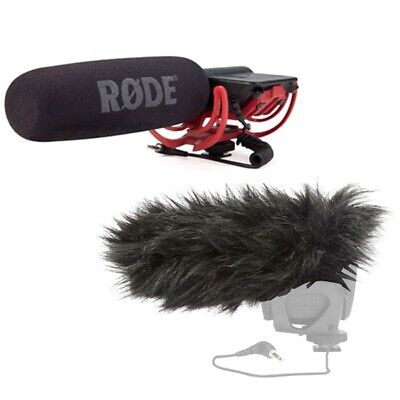 Rode VideoMic Directional Video Condenser Microphone W/Rode Deadcat NEW • 133.35£