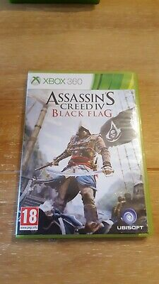 Assassins Creed IV Black Flag, Xbox 360 Game • 0.99£
