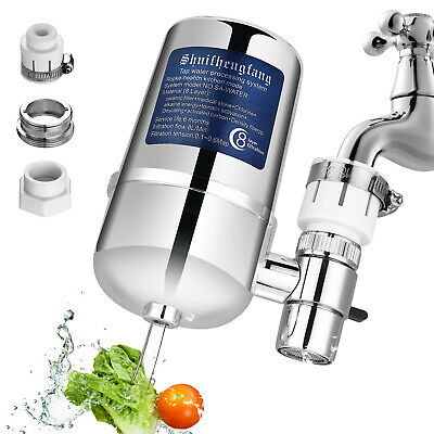 Tap Water Purifier Kitchen Faucet Ceramic Filtration Cleaner Home Kitchen Filter • 4.99£