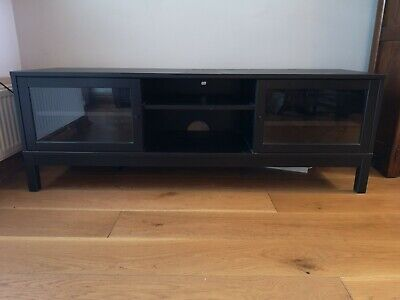 Black Ikea TV Display Stand Cabinet • 26£
