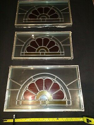 3 Stained Glass Windows - Matching • 30£