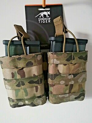 ARMY MOLLE AMMO MAG POUCH TACTICAL AND  HK417D  Smoked 20rds 6mm BB's KIT • 49.55£
