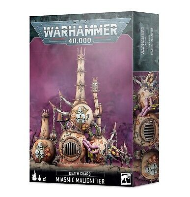 DEATH GUARD: MIASMIC MALIGNIFIER 20% Off Uk Rrp GW • 28£