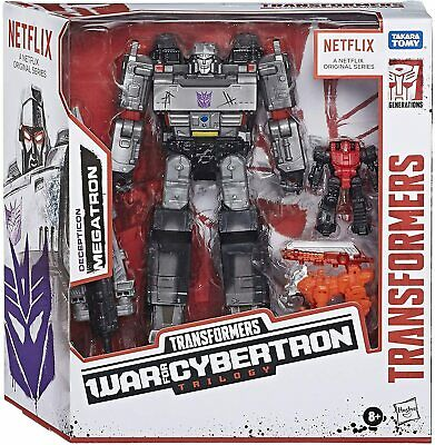 AU79.95 • Buy Transformers War For Cybertron Trilogy - Netflix Battlefield Decepticon Megatron