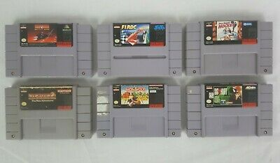 $ CDN44.51 • Buy SNES Games Lot (6) Games Pacman 2 Monopoly Turn And Burn Etc. Authentic