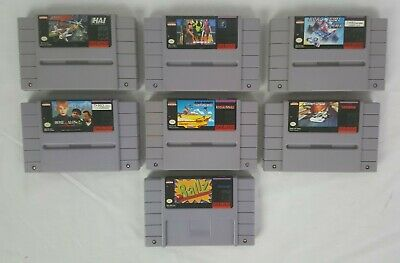 $ CDN62.34 • Buy SNES Games Lot (7) Games Road Runner Home Alone 2 Ballz Etc Authentic
