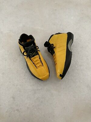 $100 • Buy NEW NBA Lakers 1/6 Kobe Bryant Adidas Crazy 1 Sunshine Yellow Shoes For ENTERBAY
