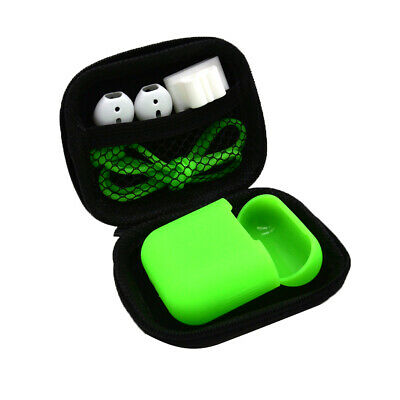 AU9.63 • Buy AirPods Silicone Case Cover + Anti Strap Ear Hook For Apple Airpod Charging