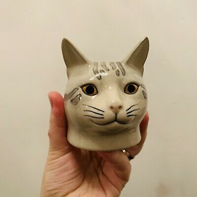 £19 • Buy QUAIL CAT FACE EGG CUP Storage
