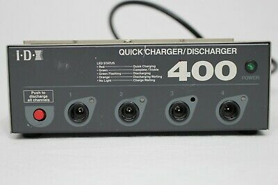 IDX Quick Charger/discharger 400 Battery Charger 4 Position NP-type And BP-90  • 38.59£