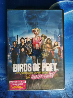 £4.19 • Buy DVD Birds Of Prey : And The Fantabulous Emancipation Of One Harley Quinn 2 Disc
