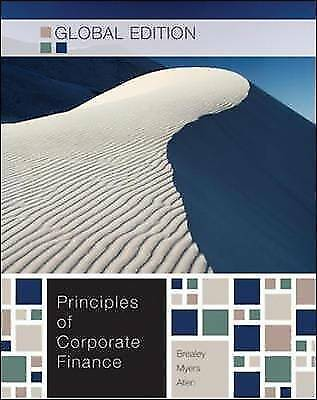 £13 • Buy Principles Of Corporate Finance By Stewart C. Myers, Richard A. Brealey...
