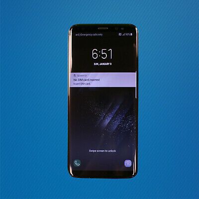 $ CDN136.67 • Buy Fair - Samsung Galaxy S8 SM-G950U 64GB - Midnight Black (Verizon) READ NOTES