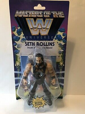 $24 • Buy WWE Masters Of The WWE Universe Seth Rollins Wrestling Action Figure In Hand WWF