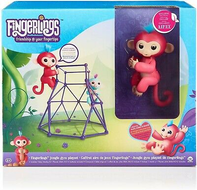 AU45 • Buy Wowwee Fingerlings Jungle Gym Playset With Baby Monkey Aimee **brand New **