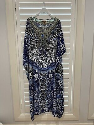 AU350 • Buy Camilla Long Kaftan. New Without Tags Never Been Worn. Excellent Condition