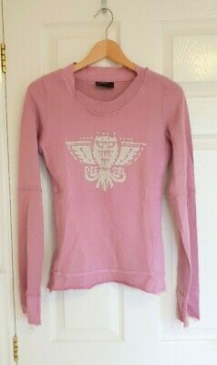 DIESEL Blush Pink Sweater/jumper Size S • 12£
