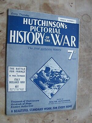 £1.60 • Buy Hutchinson's Pictorial Magazine, History Of World War 2 - Issue No 8 Series 5