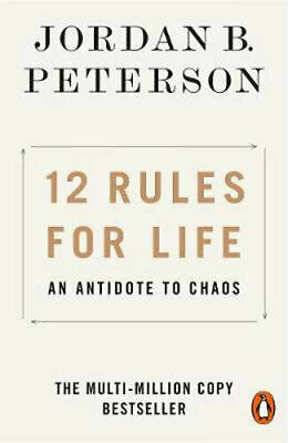AU16.75 • Buy 12 RULES FOR LIFE By Jordan B. Peterson BRAND NEW On Hand IN AUSTRALIA!