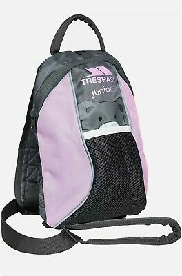 Trespass Child Backpack With Detachable Walking Safety Harness Reins Pink NEW • 10.50£