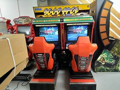Sega Scud Racer Arcade Driving Machine- 2 Player Double Driver Coin Operated • 1,999.99£