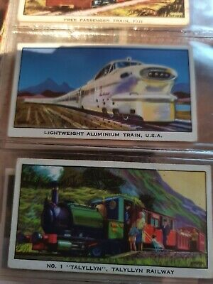 Kelloggs Trade Cards, Story Of The Locomotive, Series 2, 1963 , Full Set • 1£