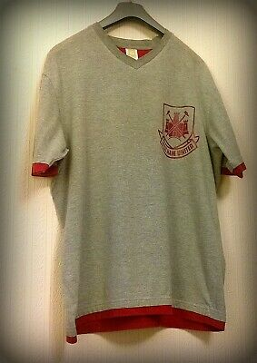 West Ham United Retro Official Licenced Product Shirt Size Large • 4.99£