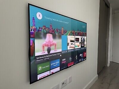 "Sony Bravia 55"" 4K KD-55X9005C Ultra HD Freeview HD Smart Android 3D LED TV • 400£"