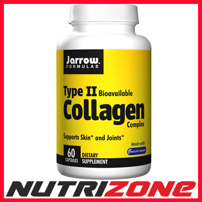£18.99 • Buy Jarrow Formulas Type II Collagen Complex Joint Health And Skin Hydration 60 Caps