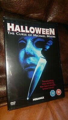 Halloween 6 The Curse Of Michael Myers DVD RARE Hard To Find,  • 0.01£