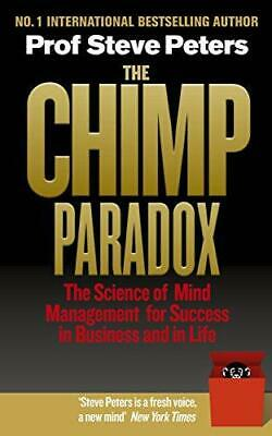 Chimp Paradox, The  Tpb Export, Very Good Condition Book, Peters, Steve, ISBN 97 • 22.44£