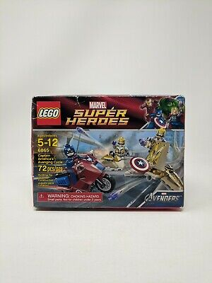 LEGO Marvel Super Heroes Captain America's Avenging Cycle 6865 Sealed Box • 17.48£
